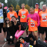 Streetfront runners at the 2013 SHLF Run