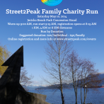 Street2Peak Family Charity Run – Sat. May 10