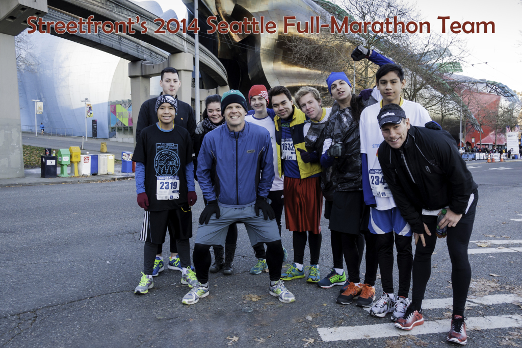 Seattle 2014 Full_Marathon Team