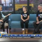 Emily and Trevor on Breakfast Television